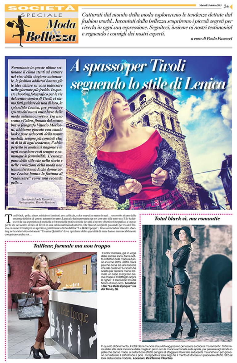 Tivoli, lo stile di Lenica #1